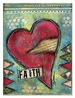 Faith Heart Fine Art Print