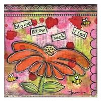 Bloom Grow Fine Art Print