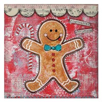 "Gingerbread Xmas by Denise Braun - 26"" x 26"" - $29.99"