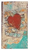 """Heart by Cassandra Cushman - 22"""" x 38"""""""