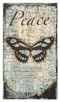 "Peace by Cassandra Cushman - 22"" x 37"""