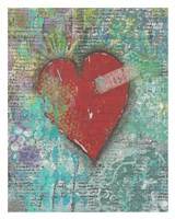 Joy Heart Fine Art Print