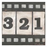 "Film by Cassandra Cushman - 26"" x 26"""