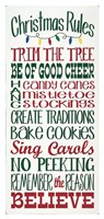 Christmas Rules Fine Art Print