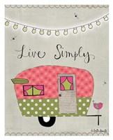 Simple Camper Fine Art Print