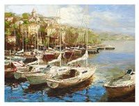 Harbor Bay Fine Art Print