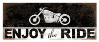 Enjoy the Ride - Motorcycle Framed Print
