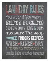 "Laundry Rules by Jo Moulton - 26"" x 32"""
