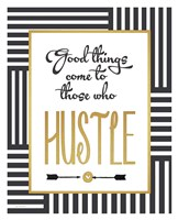 Faux Gold Hustle Fine Art Print
