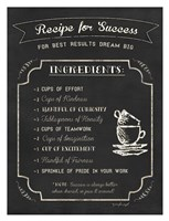 Recipe for Success Fine Art Print