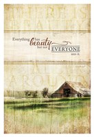 Everything Has Beauty Framed Print