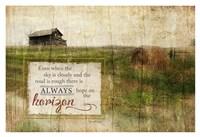 Always Hope Framed Print