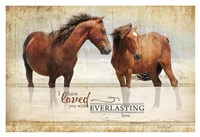Everlasting Love Framed Print