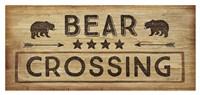 """Bear Crossing by Jennifer Pugh - 42"""" x 20"""""""