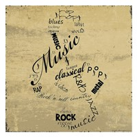 Music Note Fine Art Print