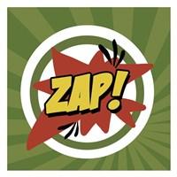 Zap Framed Print