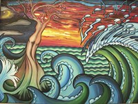 Creation Of Music Fine Art Print
