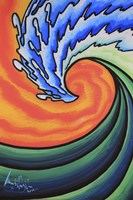 Great Wave by Martin Nasim - various sizes - $20.49