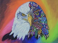 Animals Of Pride - Eagle by Martin Nasim - various sizes