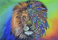 Animals Of Pride - Lion by Martin Nasim - various sizes, FulcrumGallery.com brand