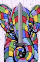 Warrior Of Color Fine Art Print