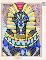 American Pharaoh Fine Art Print
