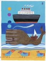 Day At The Beach Fine Art Print