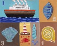Seashells Fine Art Print