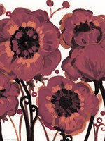 Red Blooms by Natasha Wescoat - various sizes, FulcrumGallery.com brand
