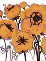 Orange Blooms by Natasha Wescoat - various sizes