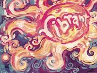 Pink Vibrant Sun by Natasha Wescoat - various sizes