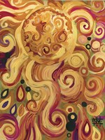 Sun Glowing Whimsy Fine Art Print