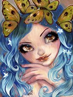 Crown Of Butterflies by Natasha Wescoat - various sizes