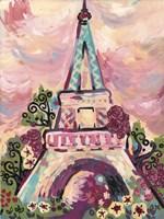 Lumiere De La Ville Fine Art Print