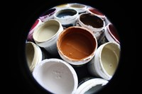 Color Cups & Tape 11 Fine Art Print