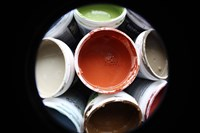 Color Cups & Tape 12 Fine Art Print