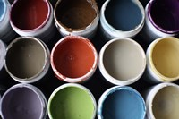 Color Cups & Tape 21 by Eric Carbrey - various sizes