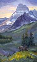 Heavy Shield Grizzly Fine Art Print