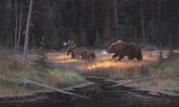 Cub Scouts Fine Art Print