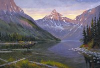Two Medicine Lake Fine Art Print
