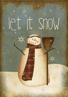Let It Snow by Beth Albert - various sizes