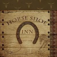 Horses Shoe Inn Fine Art Print