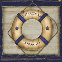 Welcome Aboard by Beth Albert - various sizes