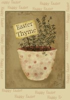 Single Easter Thyme Xl by Beth Albert - various sizes