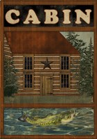 Welcome To The Cabin by Beth Albert - various sizes