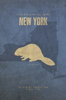 New York Poster by David Bowman - various sizes