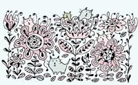 Flower Cats Fine Art Print