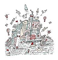 Transport City Fine Art Print