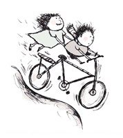 Bike Kids by Carla Martell - various sizes - $14.99