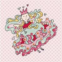 Little Flower Princess Fine Art Print